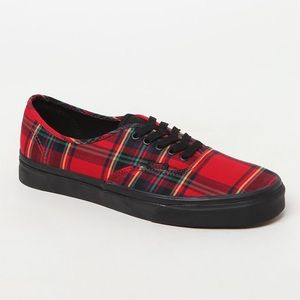 Vans Authetic Plaid sneaker 11 NWOT